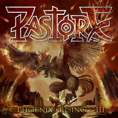 Capa do CD Pastore - Phoenix Rising